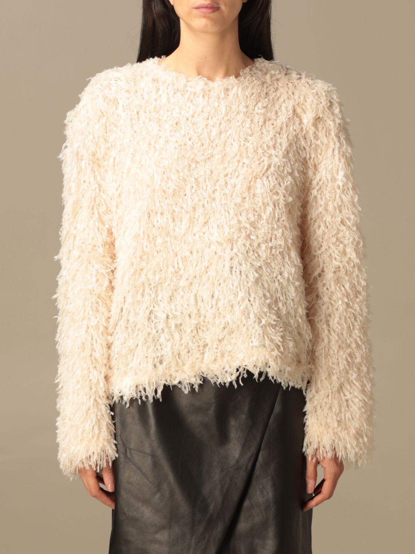Pullover L'autre Chose: Pullover damen L'autre Chose weiß 1