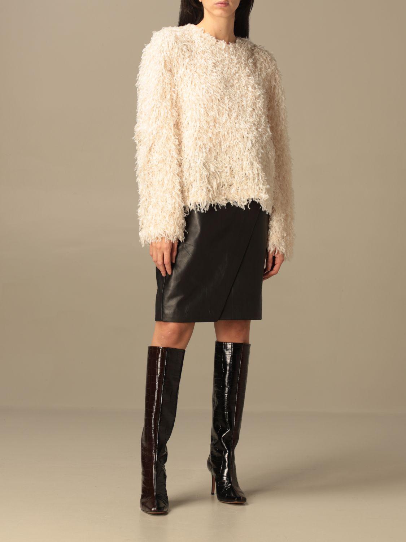 Pullover L'autre Chose: Pullover damen L'autre Chose weiß 2