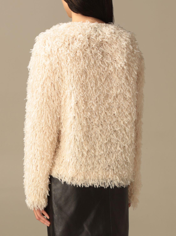Pullover L'autre Chose: Pullover damen L'autre Chose weiß 3