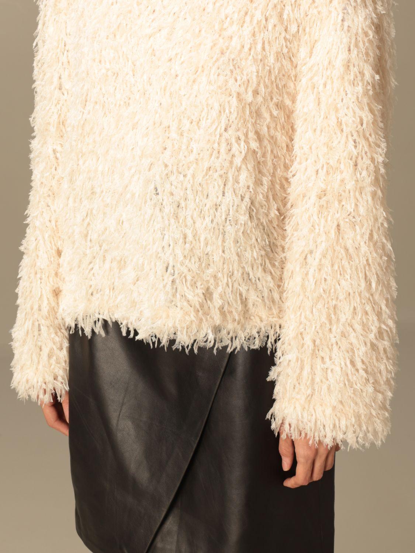 Pullover L'autre Chose: Pullover damen L'autre Chose weiß 4