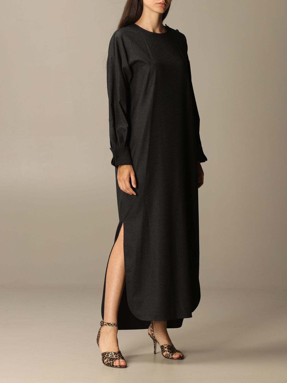 Dress Max Mara: Dress women Max Mara charcoal 1