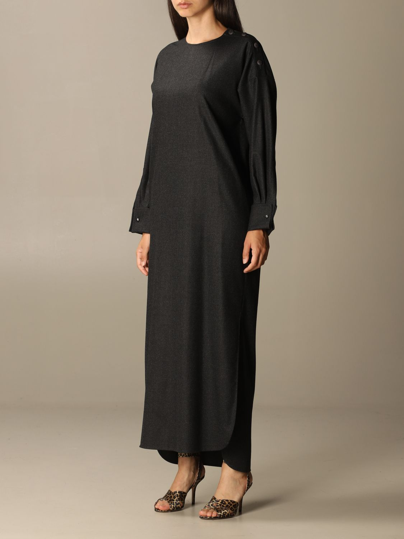 Dress Max Mara: Dress women Max Mara charcoal 3