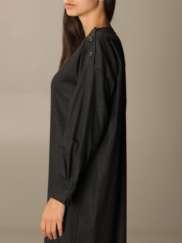 Dress Max Mara: Dress women Max Mara charcoal 4
