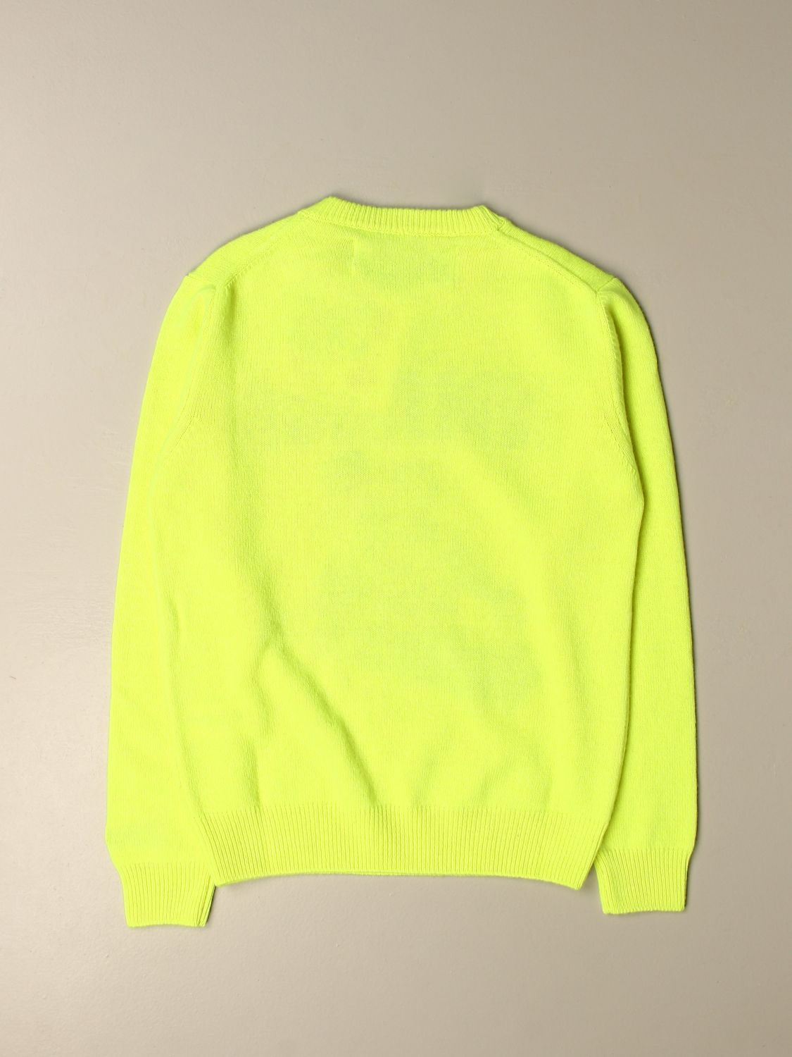Pull Mc2 Saint Barth: Pull enfant Mc2 Saint Barth jaune 2