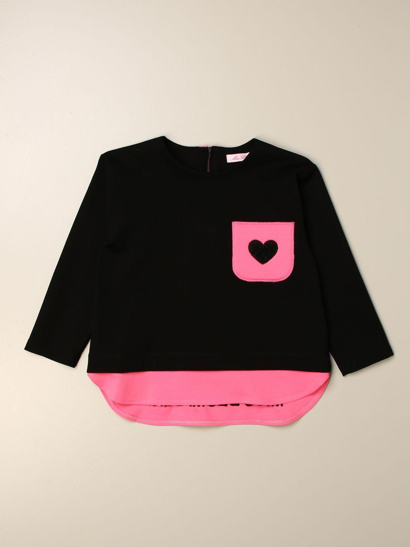 Jersey Miss Blumarine: Camisetas niños Miss Blumarine negro 1