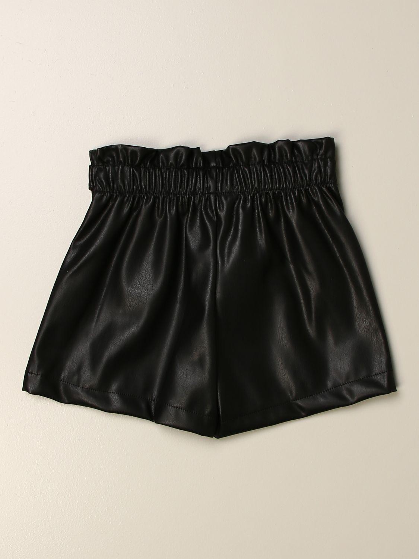 Short Miss Blumarine: Short kids Miss Blumarine black 2