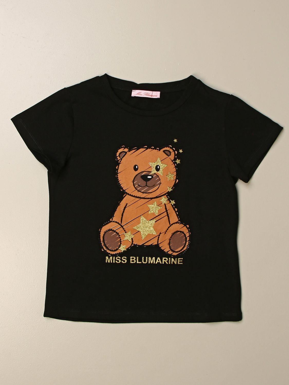 Camisetas Miss Blumarine: Camisetas niños Miss Blumarine negro 1