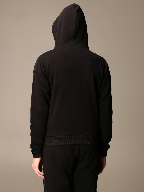 Sudadera Paciotti 4Us: Sudadera hombre Paciotti 4us negro 3