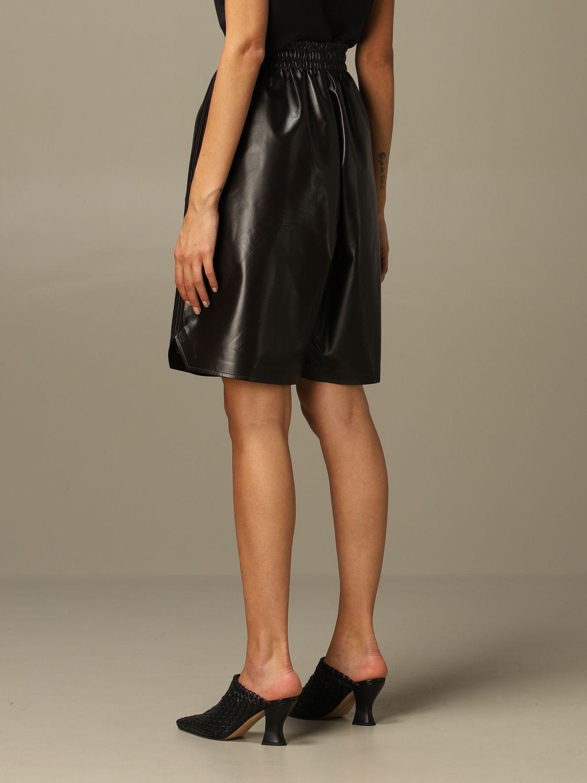 Short Bottega Veneta: Short women Bottega Veneta dark 3