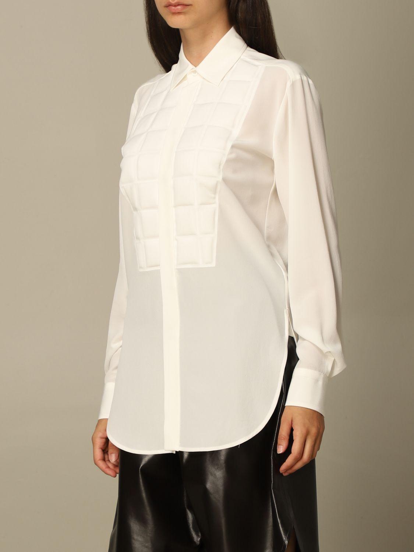 Shirt Bottega Veneta: Shirt women Bottega Veneta yellow cream 4
