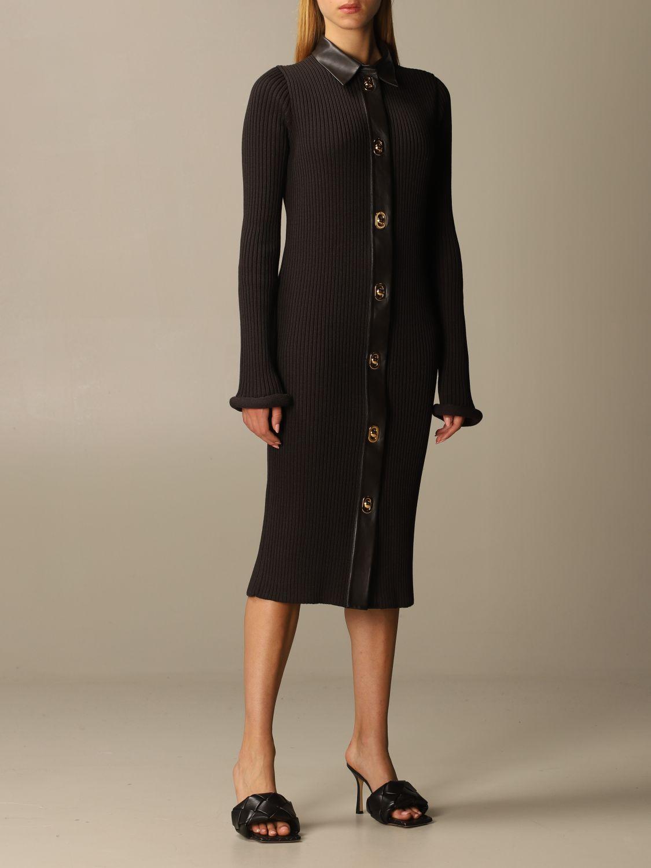 Dress Bottega Veneta: Dress women Bottega Veneta dark 2