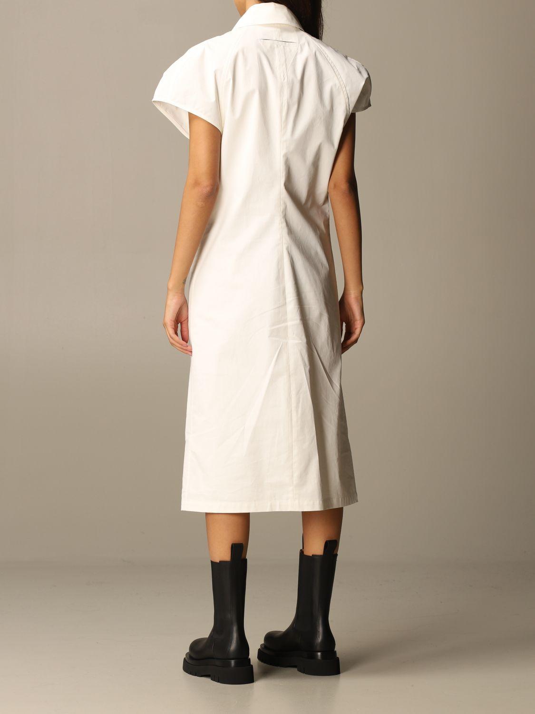 Dress Bottega Veneta: Dress women Bottega Veneta yellow cream 3