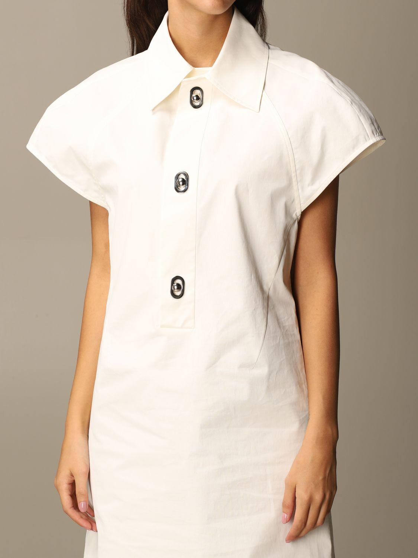 Dress Bottega Veneta: Dress women Bottega Veneta yellow cream 5