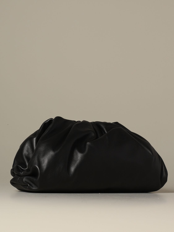 Clutch Bottega Veneta: The pouch Bottega Veneta clutch in nappa leather black 3