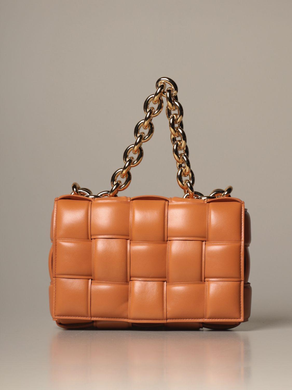 Shoulder bag Bottega Veneta: Shoulder bag women Bottega Veneta camel 1