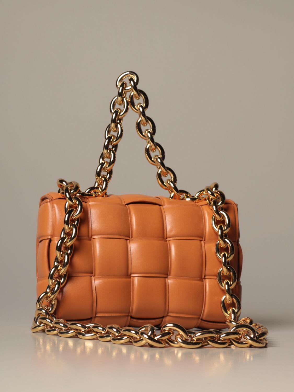 Shoulder bag Bottega Veneta: Shoulder bag women Bottega Veneta camel 3