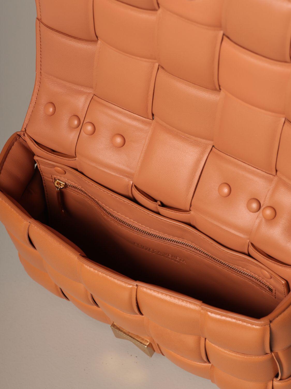 Shoulder bag Bottega Veneta: Shoulder bag women Bottega Veneta camel 5