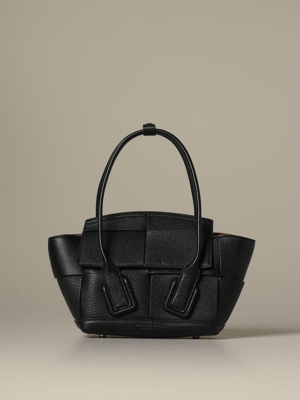 Mini bag Bottega Veneta: Shoulder bag women Bottega Veneta brown 1