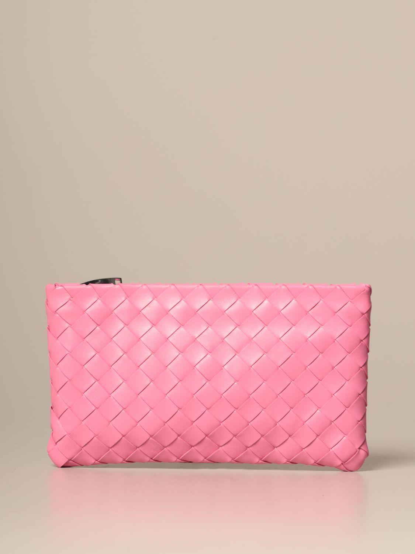 Clutch Bottega Veneta: Shoulder bag women Bottega Veneta pink 1