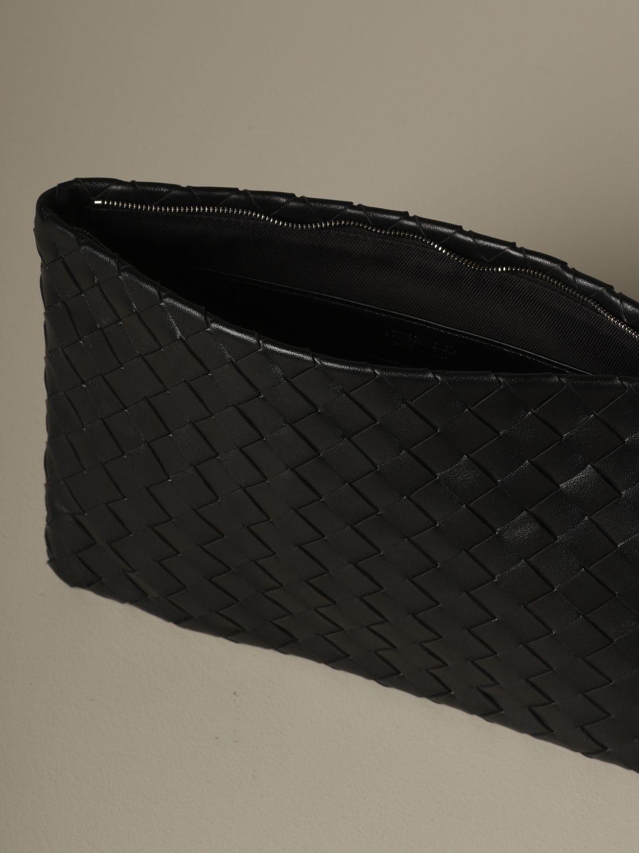Clutch Bottega Veneta: Schultertasche damen Bottega Veneta schwarz 5