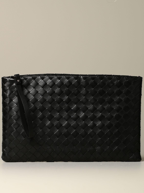 Clutch Bottega Veneta: Shoulder bag women Bottega Veneta black 1