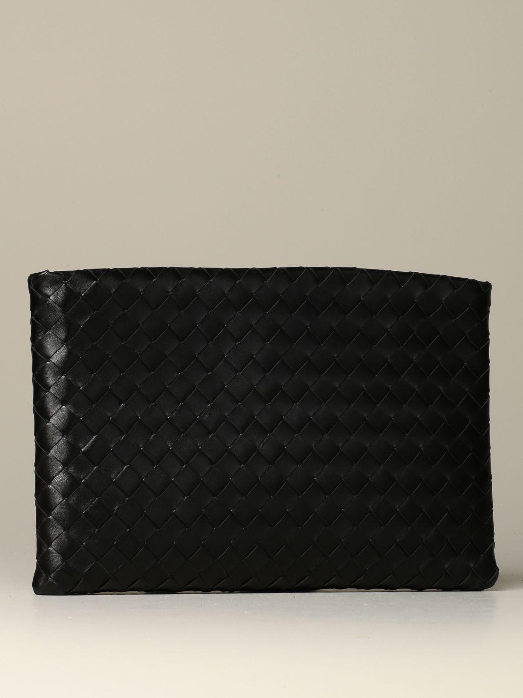 Clutch Bottega Veneta: Shoulder bag women Bottega Veneta black 2