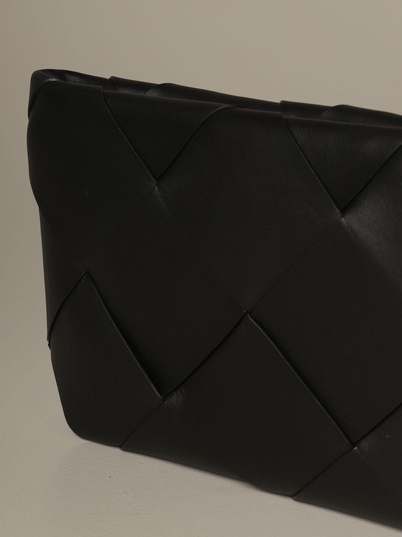 Clutch Bottega Veneta: Shoulder bag women Bottega Veneta black 3