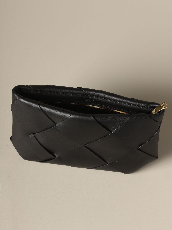 Clutch Bottega Veneta: Shoulder bag women Bottega Veneta black 4