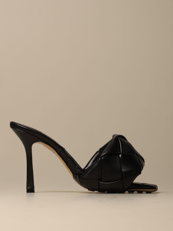 Heeled sandals Bottega Veneta: Shoes women Bottega Veneta black 1