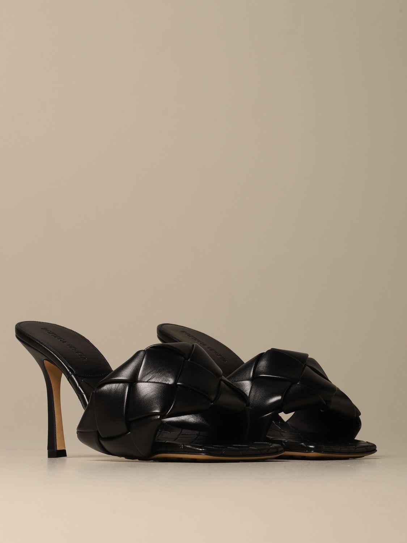 Heeled sandals Bottega Veneta: Shoes women Bottega Veneta black 2