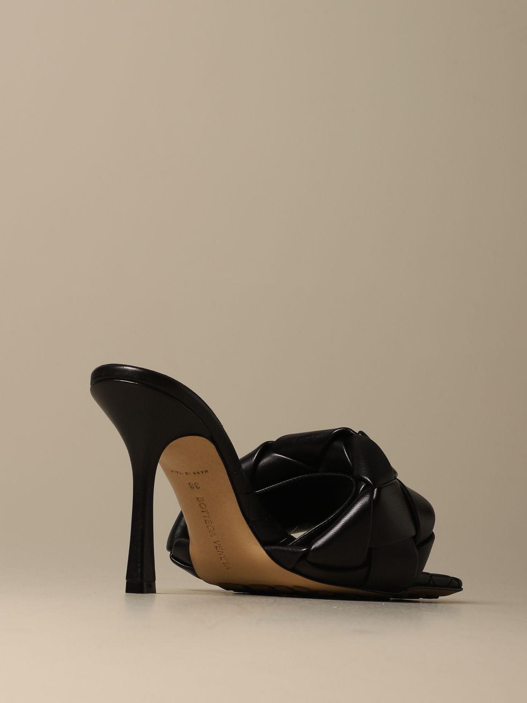 Heeled sandals Bottega Veneta: Shoes women Bottega Veneta black 4