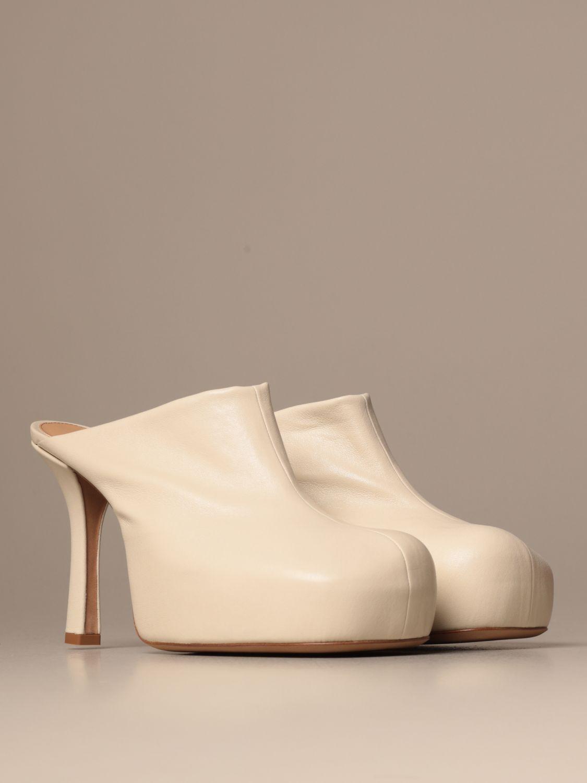 High heel shoes Bottega Veneta: Shoes women Bottega Veneta yellow cream 2