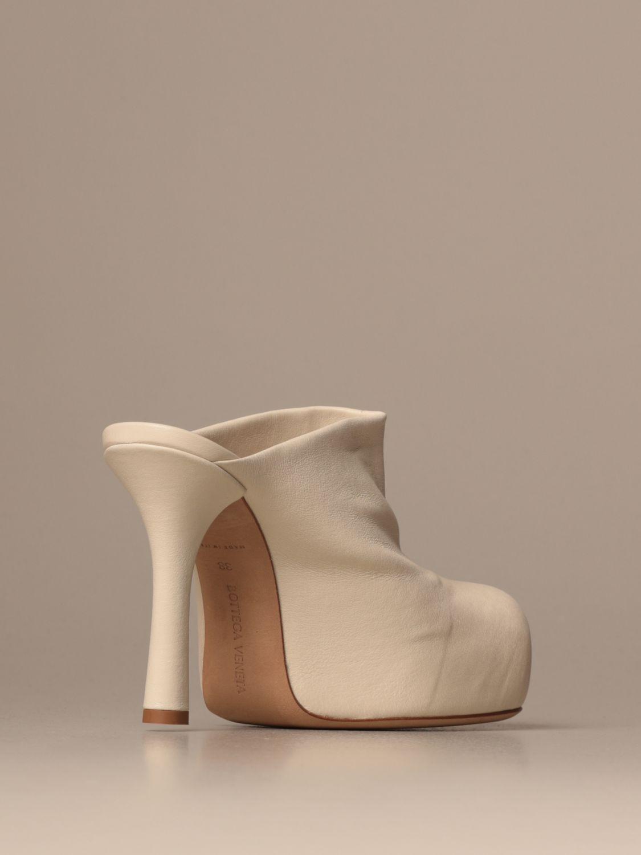 High heel shoes Bottega Veneta: Shoes women Bottega Veneta yellow cream 3