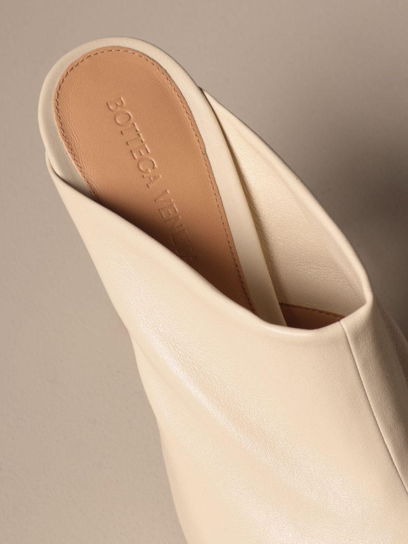 High heel shoes Bottega Veneta: Shoes women Bottega Veneta yellow cream 4
