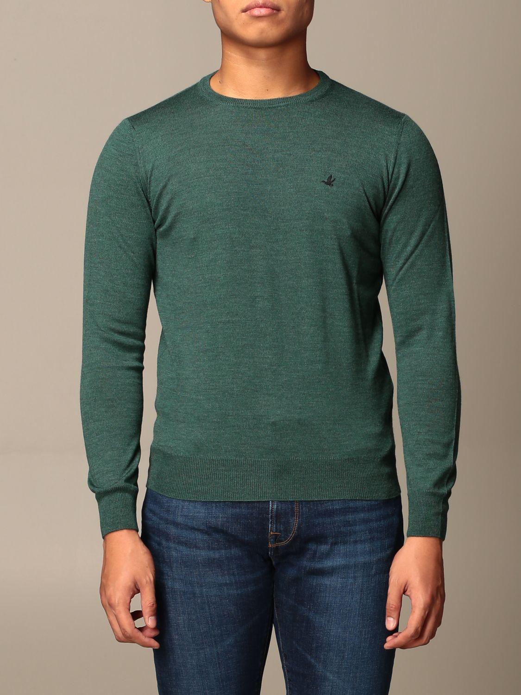 Свитер Brooksfield: Свитер Мужское Brooksfield зеленый 1