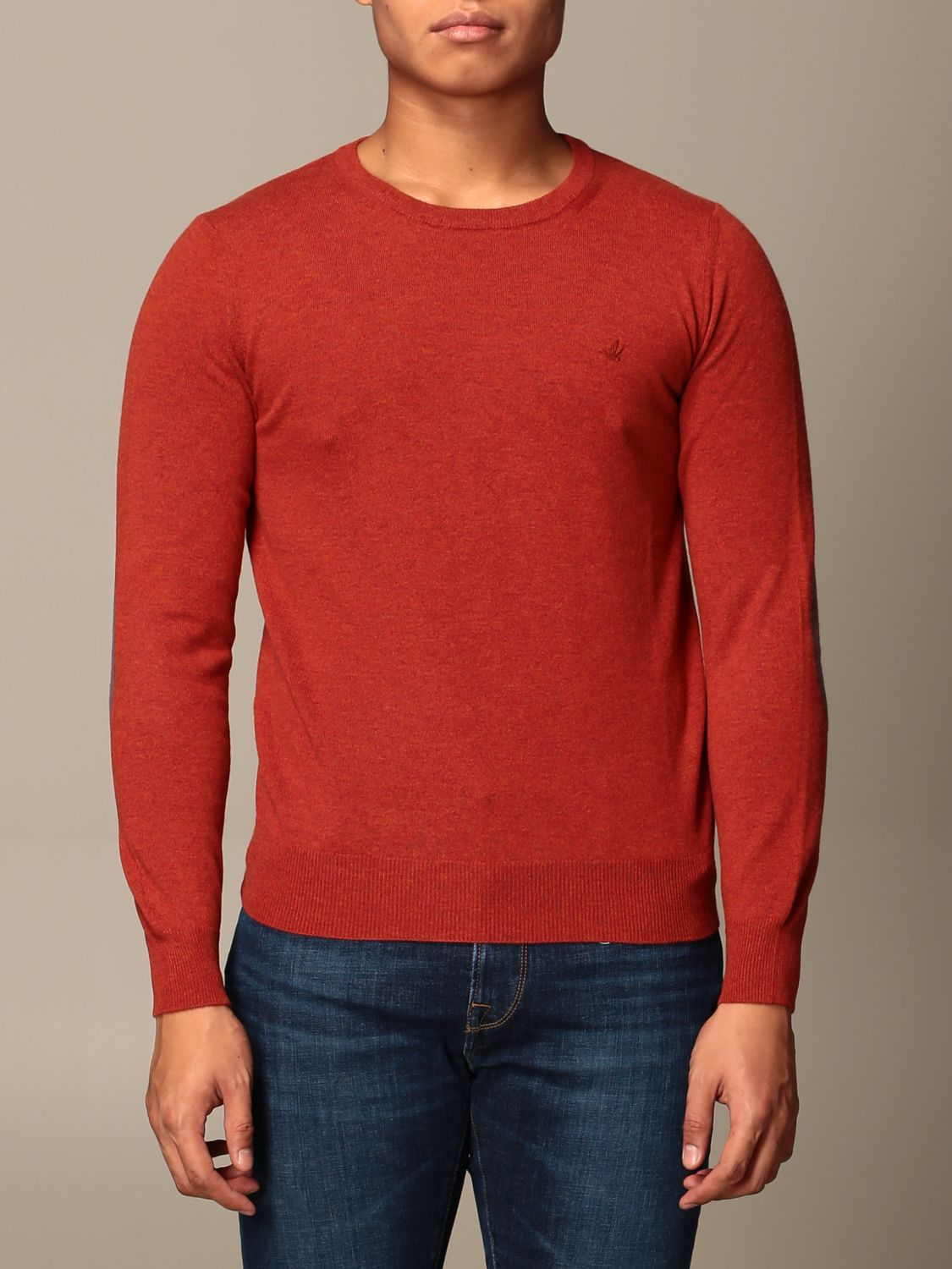 Jumper Brooksfield: Jumper men Brooksfield orange 1