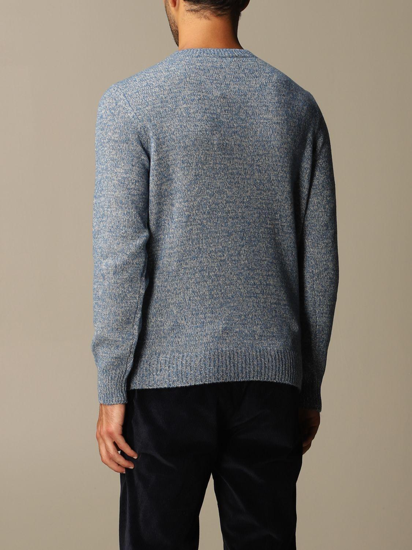 Sweater Brooksfield: Sweater men Brooksfield gnawed blue 2