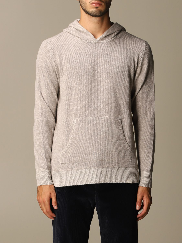 Sweater Brooksfield: Brooksfield sweatshirt with hood grey 1
