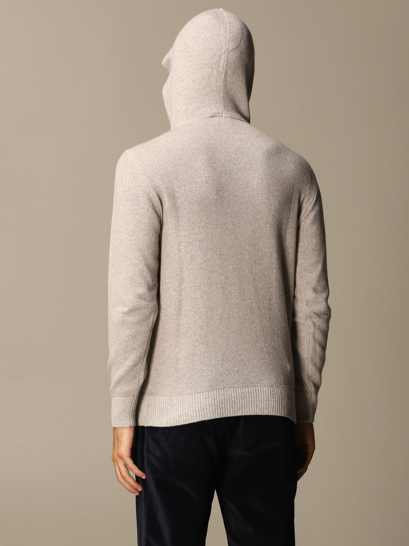 Sweater Brooksfield: Brooksfield sweatshirt with hood grey 2