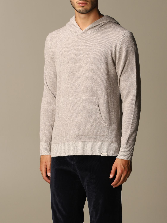 Sweater Brooksfield: Brooksfield sweatshirt with hood grey 3