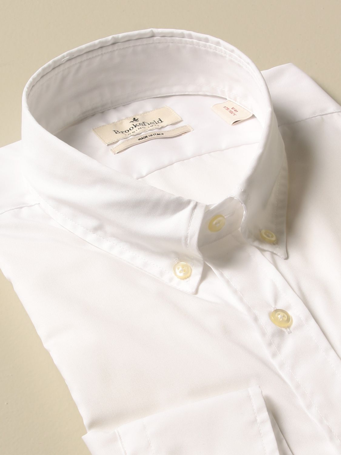 Shirt Brooksfield: Shirt men Brooksfield white 2