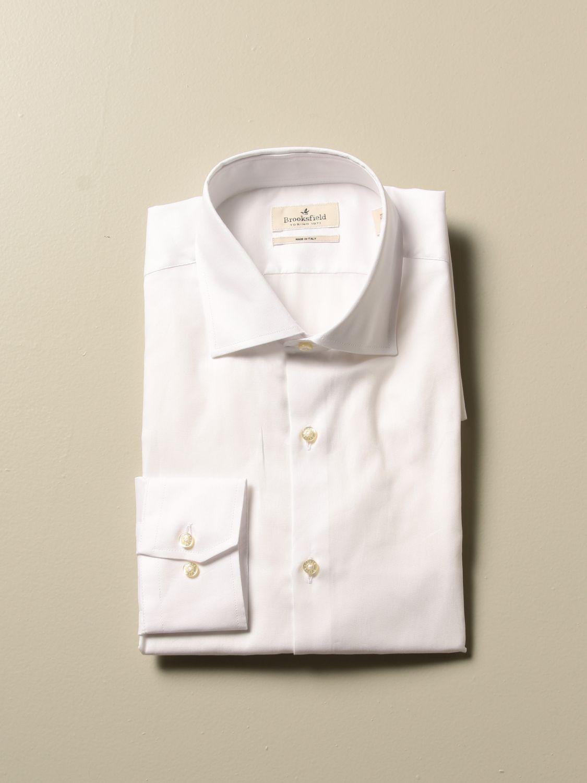 Shirt Brooksfield: Shirt men Brooksfield white 1