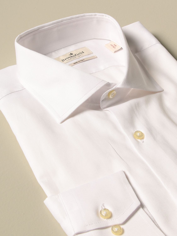 Shirt Brooksfield: Shirt men Brooksfield white 2