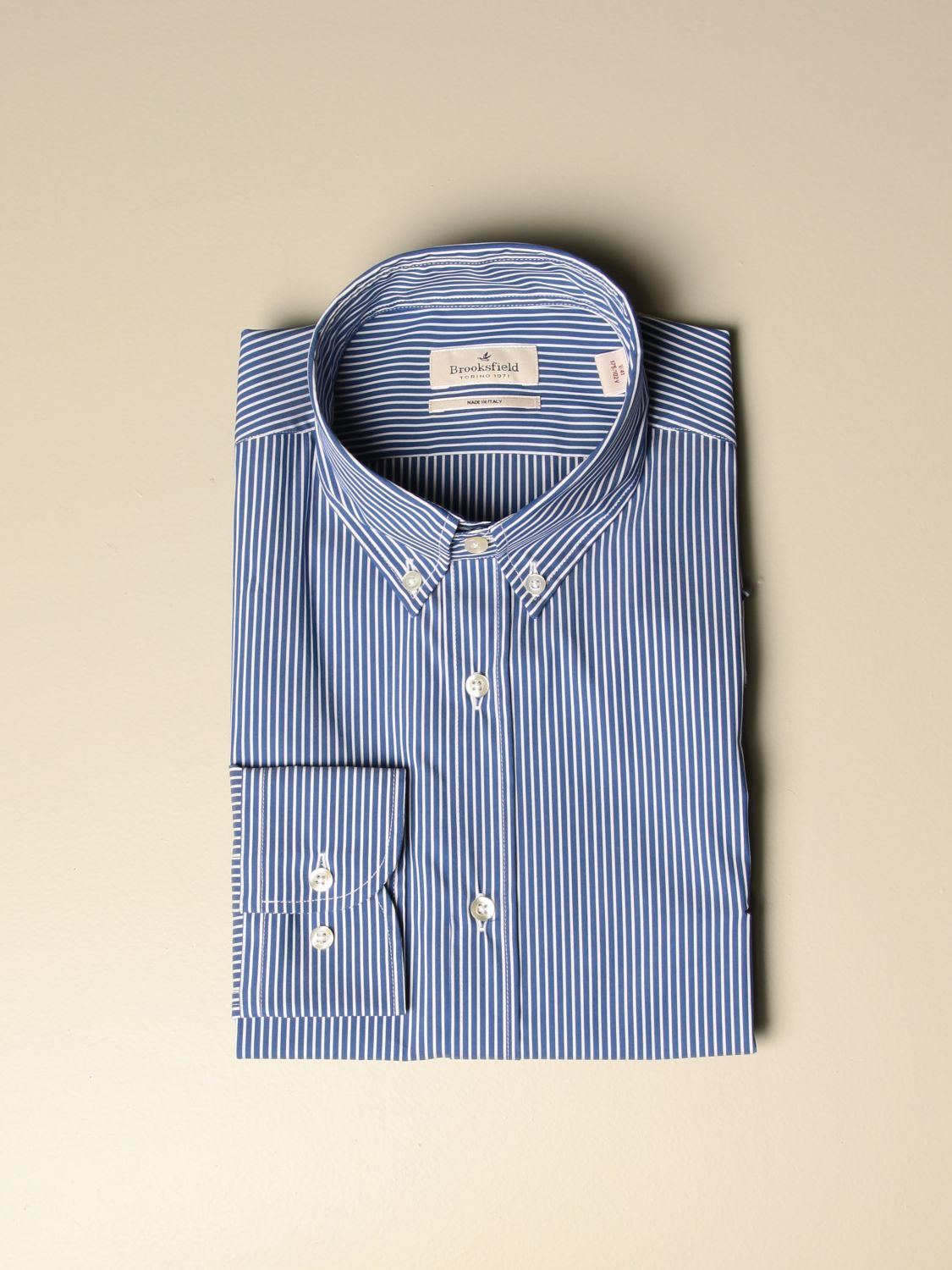 Shirt Brooksfield: Shirt men Brooksfield blue 1