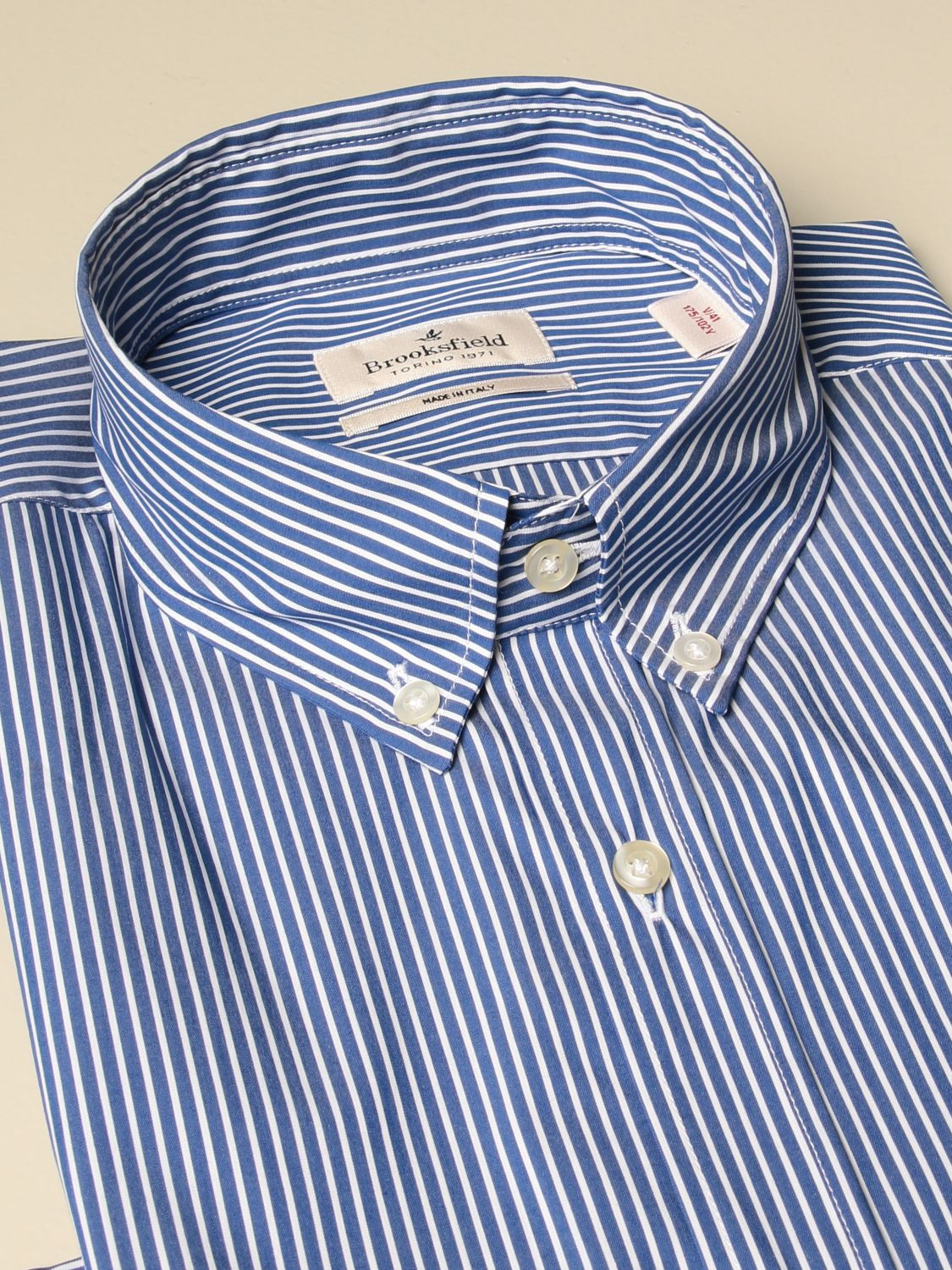 Shirt Brooksfield: Shirt men Brooksfield blue 2