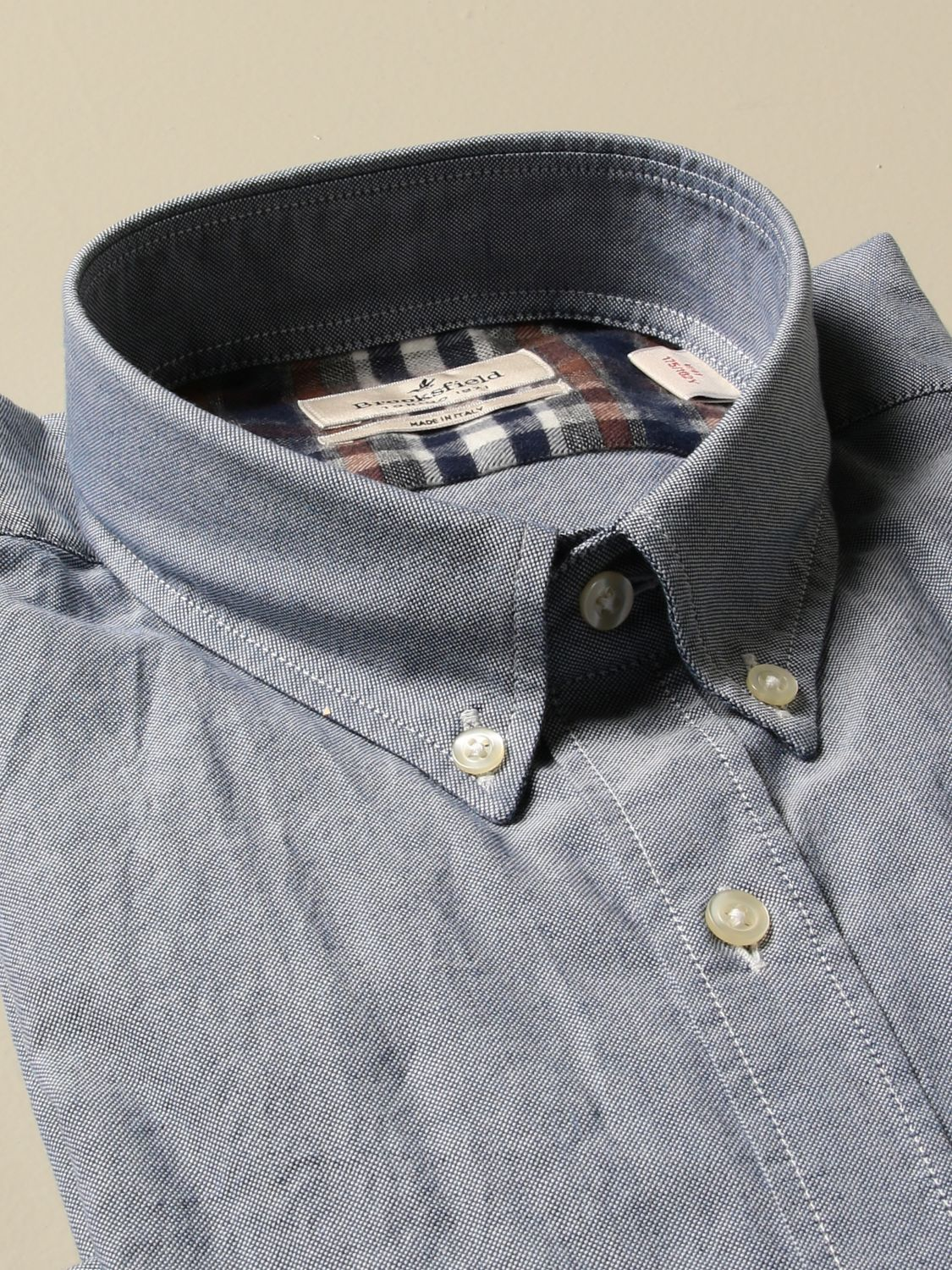Shirt Brooksfield: Shirt men Brooksfield denim 2