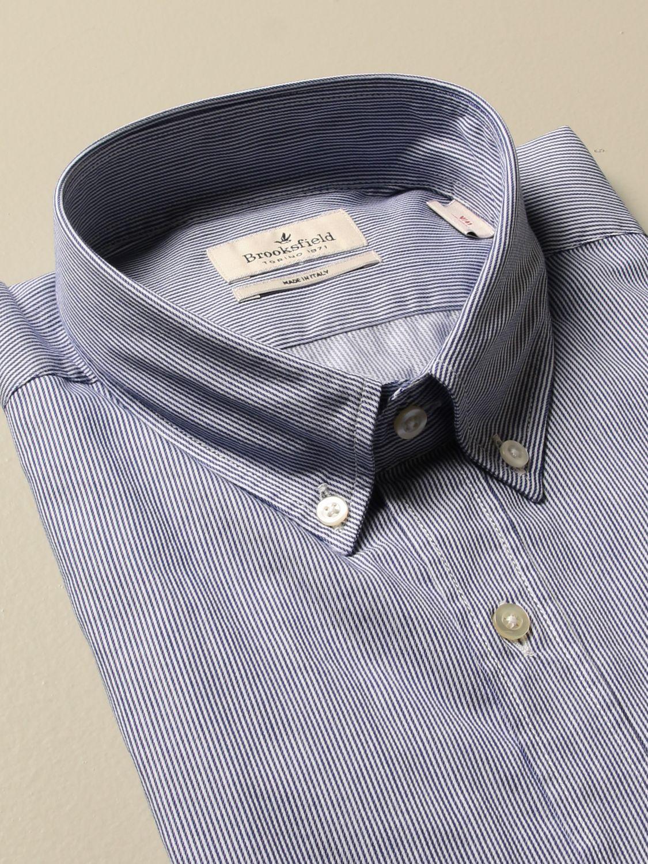 Shirt Brooksfield: Shirt men Brooksfield blue 2