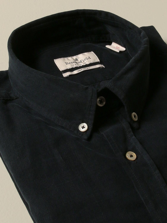 衬衫 Brooksfield: 衬衫 男士 Brooksfield 海军蓝 2