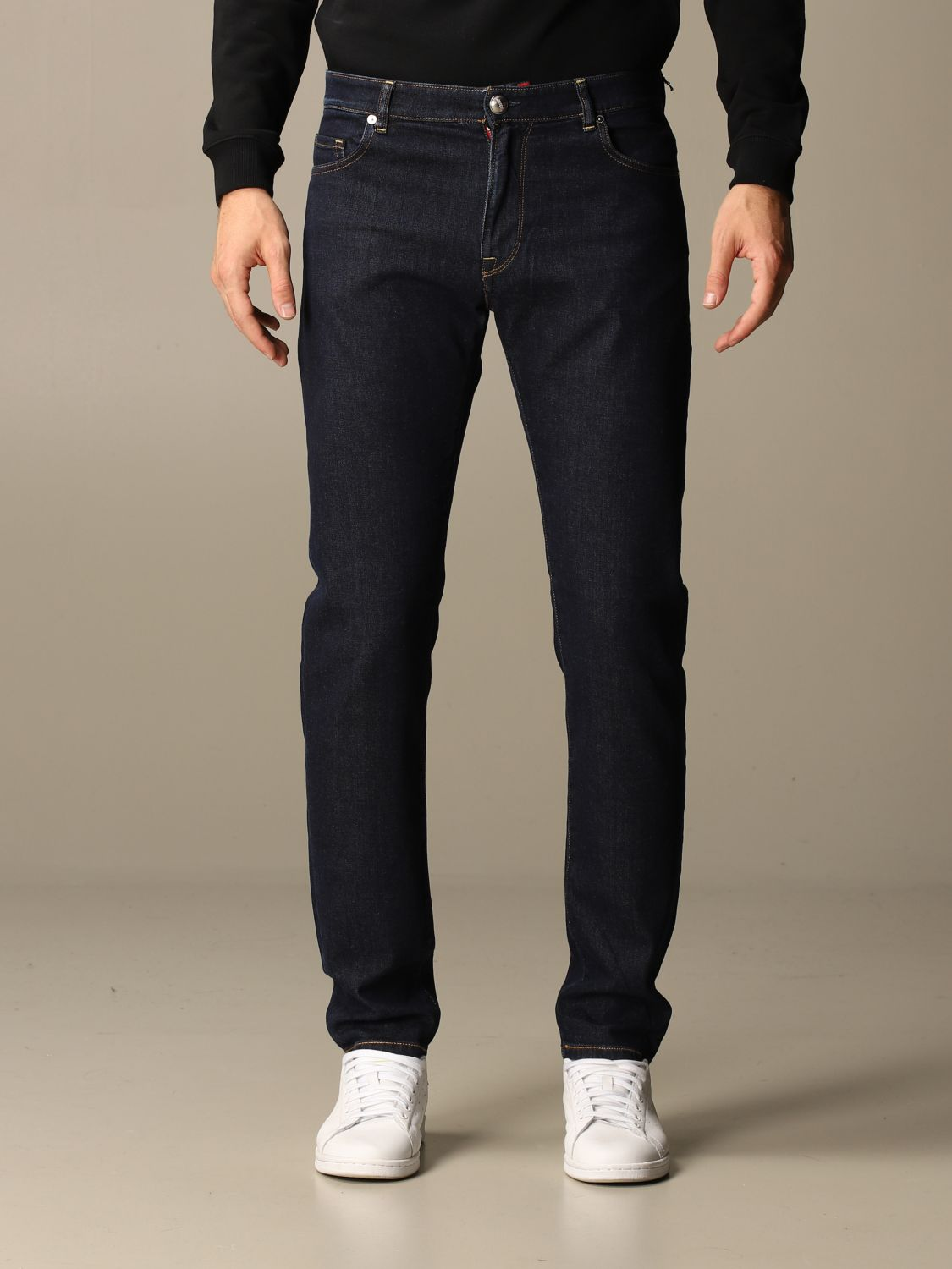 Jeans Brooksfield: Jeans herren Brooksfield blau 1