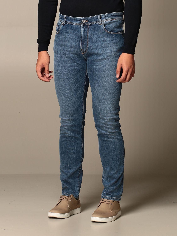 Jeans Brooksfield: Jeans men Brooksfield stone washed 3